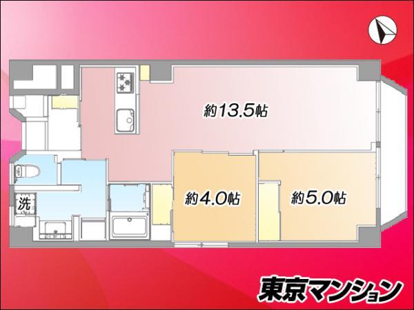 中古マンション 豊島区南池袋2丁目8-18 JR山手線池袋駅 4999万円
