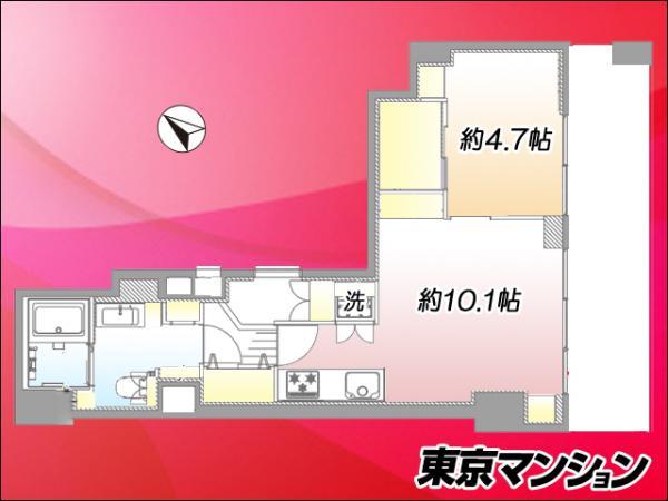 中古マンション 中央区新富1丁目 有楽町線新富町駅 3599万円