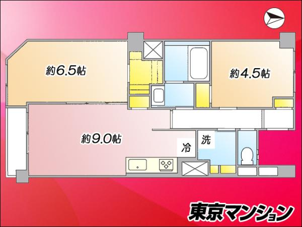 中古マンション 墨田区業平4丁目8-3 半蔵門線押上駅 2980万円