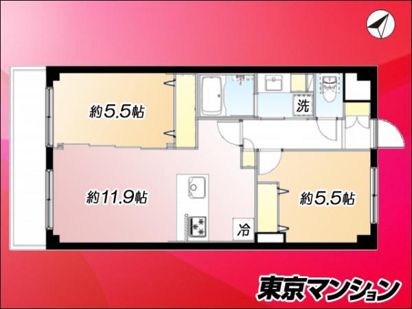 中古マンション 練馬区氷川台3丁目 副都心線氷川台駅 2999万円