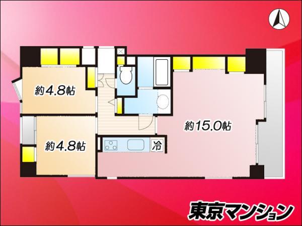 中古マンション 大田区西蒲田7丁目36-5 JR京浜東北線蒲田駅 5200万円