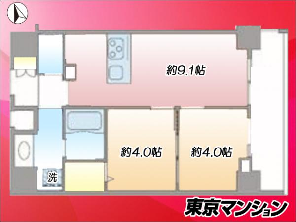 新築マンション 墨田区八広2丁目 東武亀戸線小村井駅 3980万円