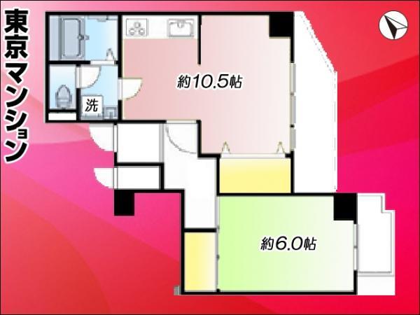 中古マンション 板橋区志村1丁目 都営三田線志村坂上駅 2299万円