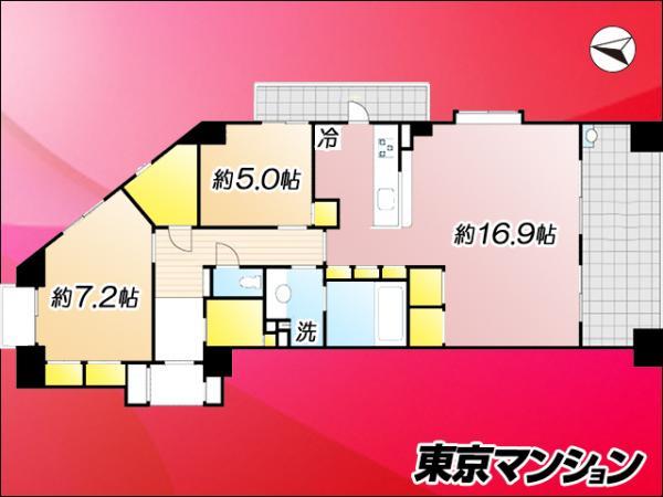 中古マンション 江東区東陽4丁目 東西線東陽町駅 6980万円