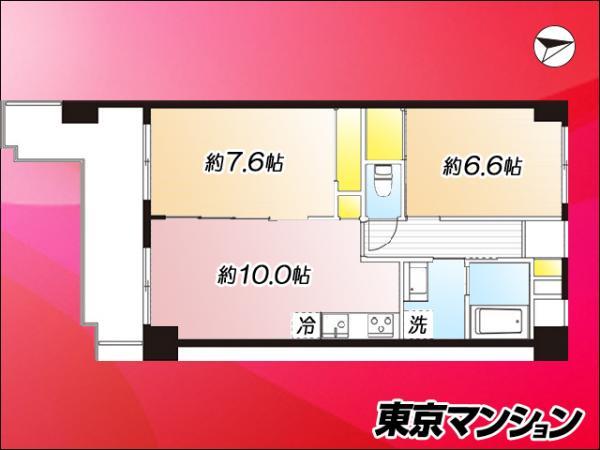 中古マンション 大田区本羽田1丁目 京急空港線糀谷駅 3280万円