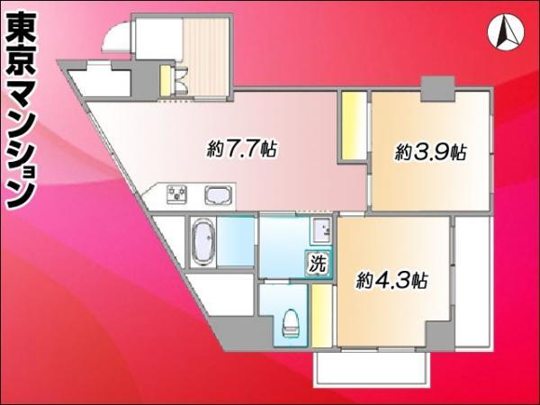 中古マンション 豊島区駒込3丁目 南北線駒込駅 2900万円