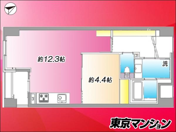 中古マンション 荒川区西日暮里2丁目 JR山手線西日暮里駅 4099万円