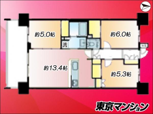 中古マンション 江東区枝川2丁目 有楽町線豊洲駅 5180万円