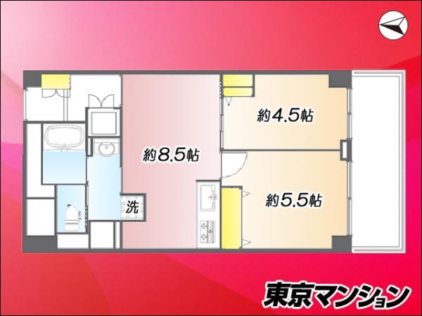 中古マンション 台東区松が谷4丁目2-6 日比谷線入谷駅 3190万円