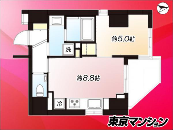 中古マンション 台東区松が谷1丁目11-7 JR山手線上野駅 3590万円