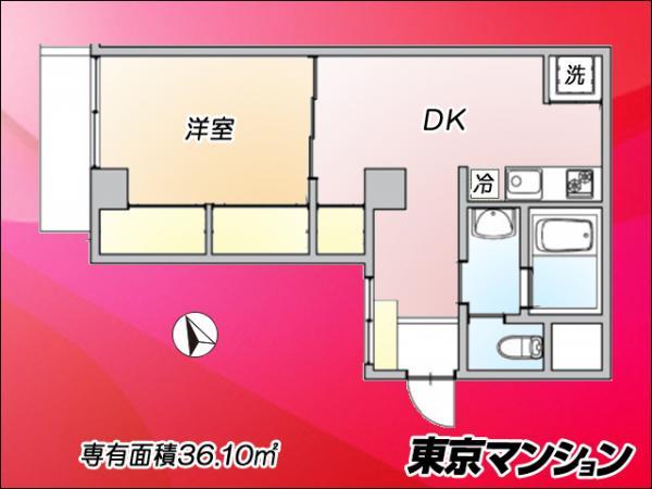 中古マンション 杉並区荻窪5丁目8-7 JR中央線荻窪駅 2780万円