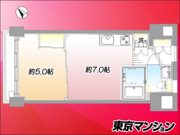 中古マンション 中野区中野3丁目 JR中央線中野駅 2499万円