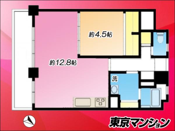 中古マンション 目黒区目黒1丁目24-19 JR山手線目黒駅 3790万円