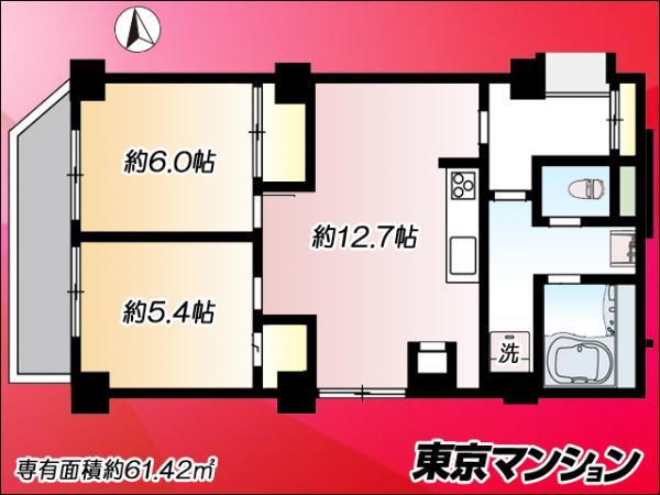 中古マンション 台東区西浅草3丁目 つくばエクスプレス浅草駅 3380万円