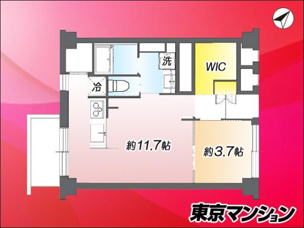 中古マンション 中央区月島4丁目 都営大江戸線勝どき駅 3990万円