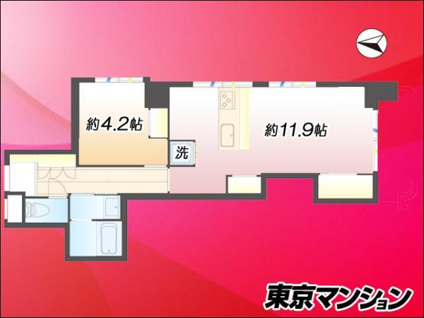 中古マンション 江東区大島6丁目 都営新宿線大島駅 2380万円