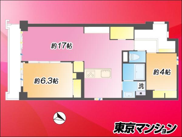中古マンション 渋谷区代々木4丁目31-2 京王線初台駅 5680万円