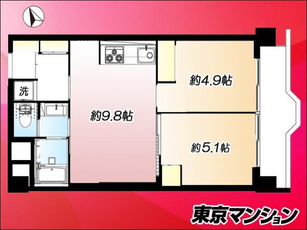 中古マンション 北区神谷3丁目 南北線志茂駅 1999万円