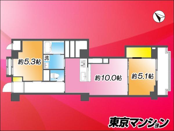 中古マンション 練馬区羽沢1丁目 西武池袋線江古田駅 2990万円
