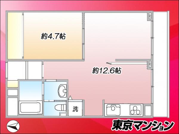 中古マンション 豊島区巣鴨5丁目 JR山手線巣鴨駅 2499万円