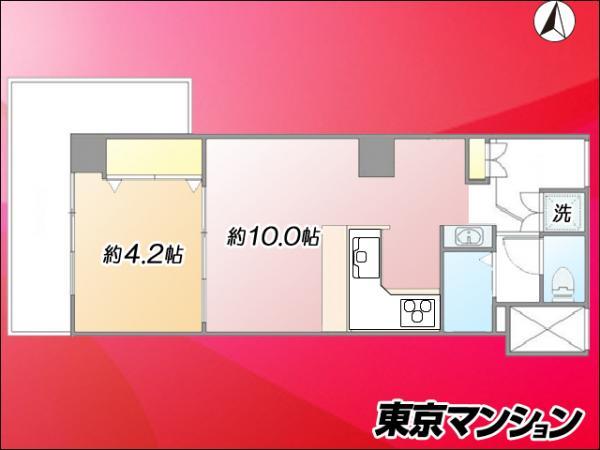 中古マンション 渋谷区道玄坂1丁目 京王井の頭線渋谷駅 4680万円