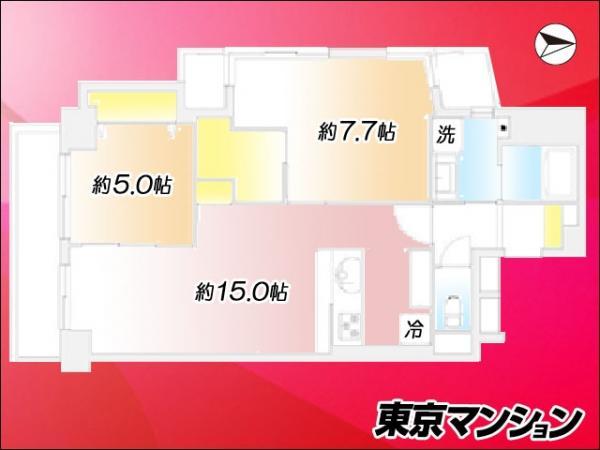 中古マンション 江東区亀戸2丁目 JR中央・総武線亀戸駅 4299万円