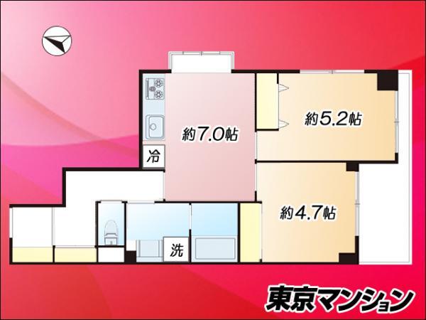 中古マンション 板橋区清水町 都営三田線本蓮沼駅 2480万円