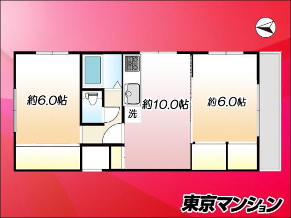 中古マンション 世田谷区松原1丁目 京王線明大前駅 3050万円