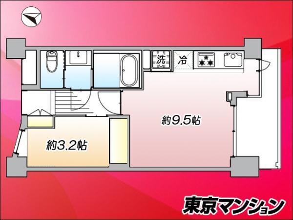 中古マンション 品川区北品川5丁目 JR山手線大崎駅 4580万円