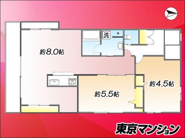 中古マンション 板橋区大山金井町 東武東上線大山駅 2680万円