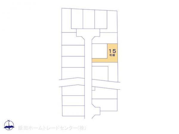 新築戸建 東京都小平市御幸町36 JR中央線武蔵小金井駅駅 3580万円