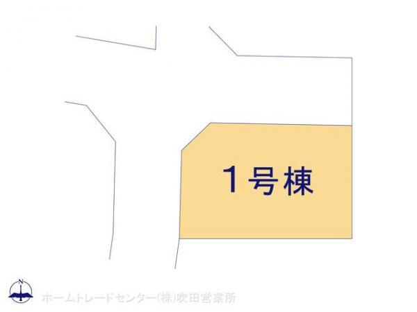 新築戸建 大阪府茨木市郡山1丁目458-6 JR東海道本線(米原〜神戸)茨木駅駅 3380万円