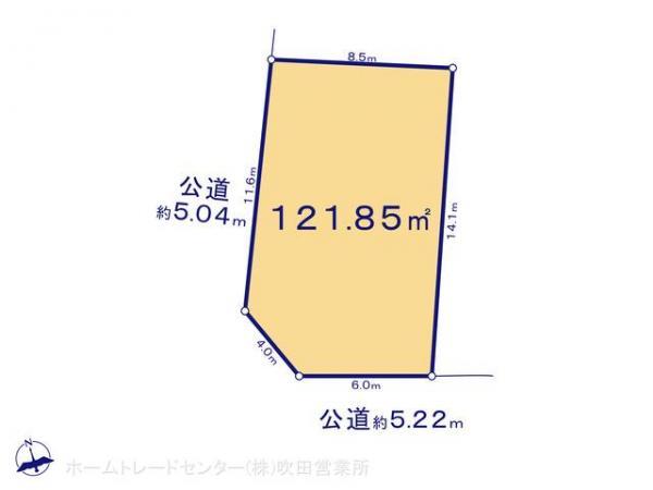 土地 京都府宇治市五ケ庄広岡谷2-236 JR奈良線黄檗駅駅 1900万円