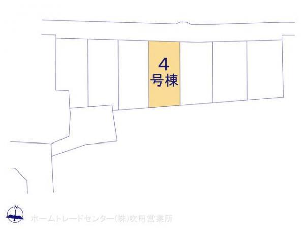 新築戸建 京都府八幡市橋本奥ノ町3 京阪電鉄本線橋本駅駅 2180万円