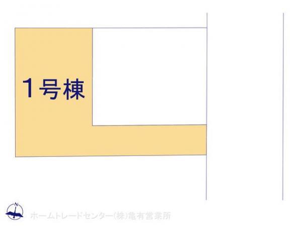 新築戸建 東京都江戸川区大杉3丁目13 JR総武本線新小岩駅駅 3990万円