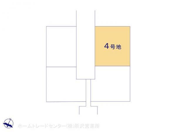 土地 埼玉県狭山市大字水野722-23 西武新宿線入曽駅駅 2150万円
