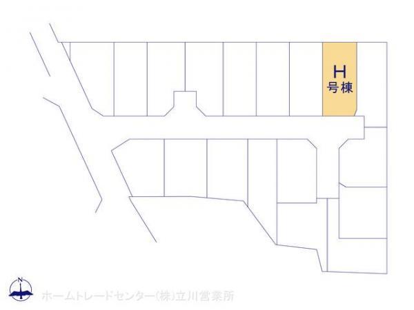 新築戸建 東京都東大和市芋窪4丁目1477-14 多摩モノレール上北台駅駅 3180万円