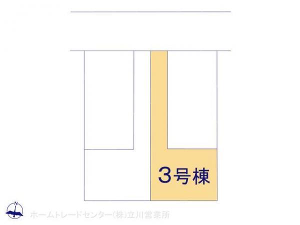 新築戸建 東京都青梅市大門3丁目7 JR青梅線河辺駅駅 2880万円