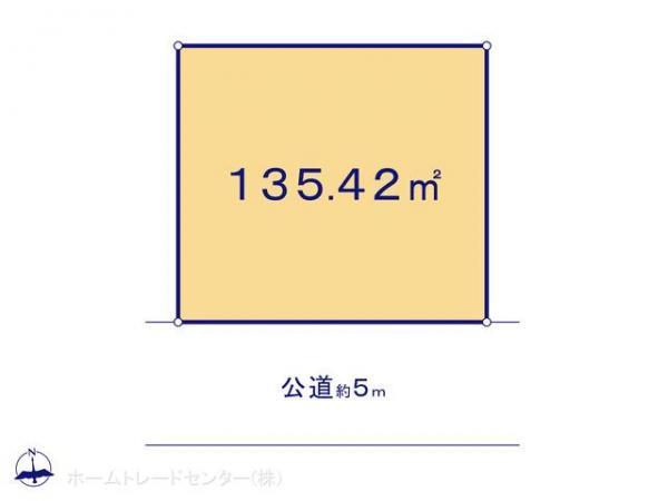 土地 東京都府中市日新町4丁目61-1 JR南武線西府駅駅 4480万円