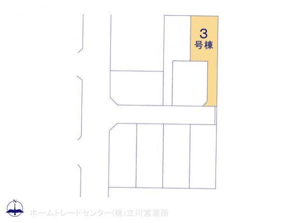 新築戸建 東京都青梅市野上町3丁目5-6 JR青梅線河辺駅駅 3290万円