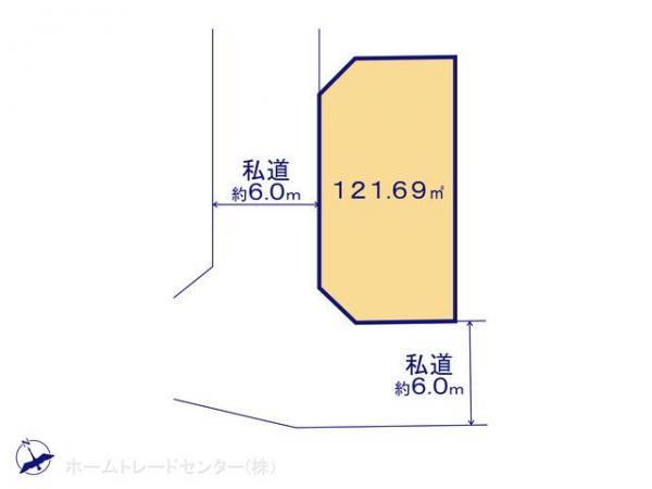 土地 埼玉県新座市畑中1丁目9-46 JR武蔵野線新座駅 2780万円