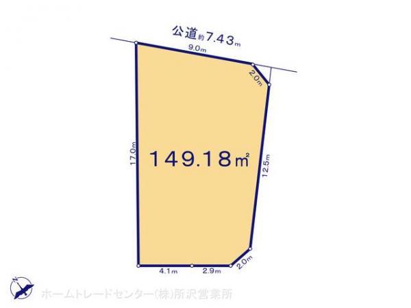土地 埼玉県狭山市大字青柳927-2 西武新宿線南大塚駅 1780万円