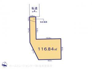 土地 埼玉県吉川市中野334-1 JR武蔵野線吉川駅 19900000