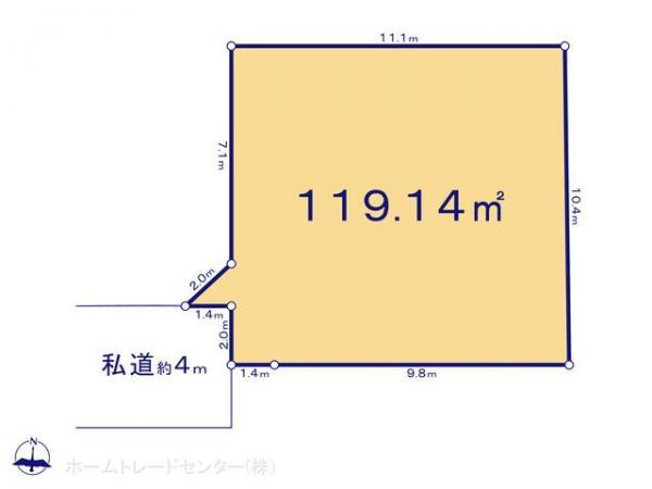 土地 東京都中野区鷺宮6丁目23 西武新宿線下井草駅 5180万円