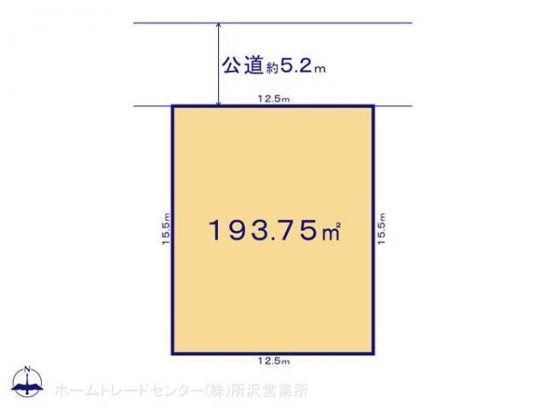 土地 埼玉県狭山市柏原36-6 西武新宿線狭山市駅 2200万円