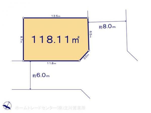 土地 東京都羽村市富士見平1丁目10 JR青梅線羽村駅 2980万円