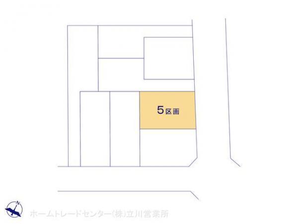 土地 東京都羽村市富士見平1丁目10 JR青梅線羽村駅 2680万円