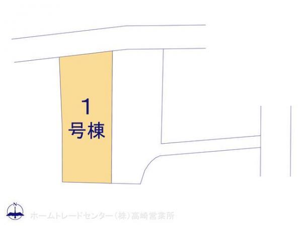 新築戸建 群馬県高崎市下滝町505-1 JR高崎線高崎駅  2190万円