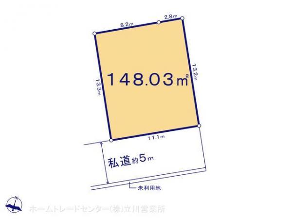 土地 東京都八王子市弐分方町78-1 JR中央線西八王子駅 1380万円