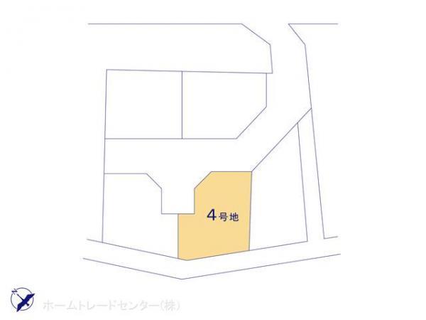 土地 東京都調布市西つつじケ丘4丁目37-8 京王線つつじヶ丘駅  4730万円